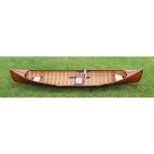 Traditional Canoe With Ribs