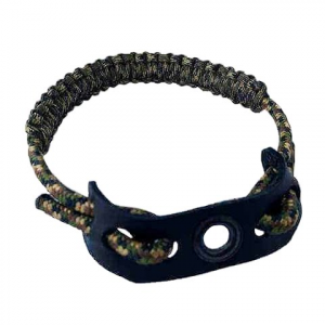 Jakt Gear Premium Leather And Paracord Wrist Sling ( Non - Magnetic ) - Camo