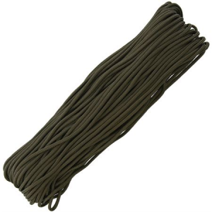 Marbles 1172H 100 Feet Paracord Olive Drab with 550 Paracord Construction