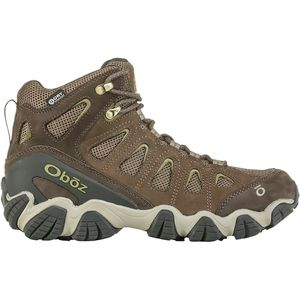 Sawtooth II Mid B-Dry Hiking Boot - Men's Canteen/Mayfly Green, 10.0 - Excellent
