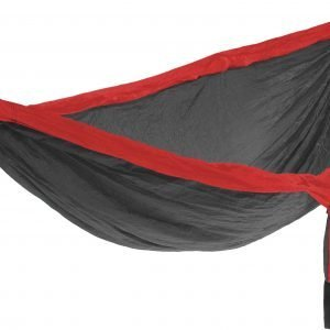 ENO DoubleNest Hammock, Charcoal/Red