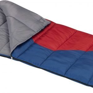 Wenzel Youth Sprout Sleeping Bag, Kids, Regular, Blue/Red