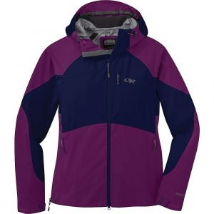 Outdoor Research Women's Hemispheres Jacket - Small - Magenta / Twilight