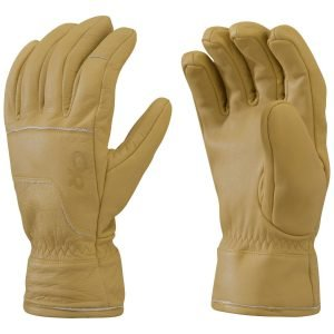 Outdoor Research Aksel Work Gloves, Natural - White, M
