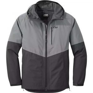 Outdoor Research Men's Foray Jacket - Small - Light Pewter / Storm