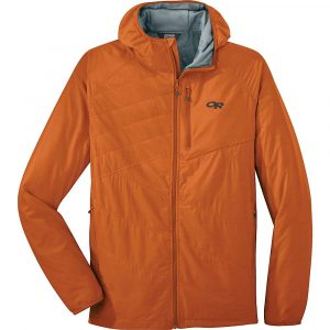 Outdoor Research Men's Refuge Air Hooded Jacket - Large - Copper