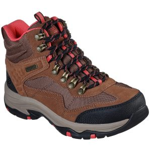Skechers Women's Relaxed Fit: Trego - Base Camp Hiking Boot - Brown, 6