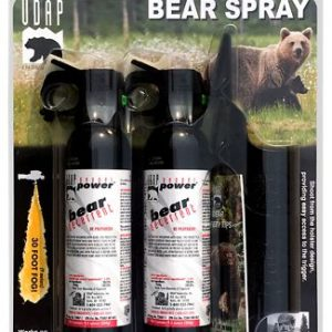 UDAP Magnum Bear Spray 2-Pack with Griz Guard Holster