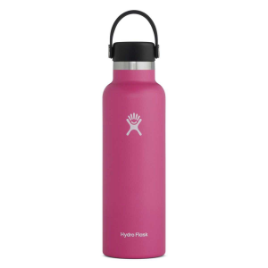Hydro Flask Standard Mouth Insulated Water Bottle with Flex Cap - 21 oz - Carnation - 21oz