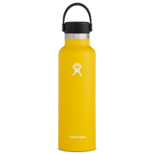 Hydro Flask Standard Mouth Insulated Water Bottle with Flex Cap - 21 oz - Sunflower - 21oz