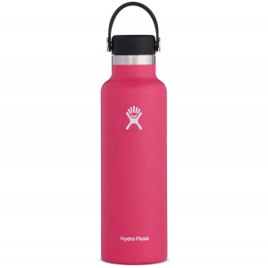 Hydro Flask Standard Mouth Insulated Water Bottle with Flex Cap - 21 oz - Watermelon - 21oz