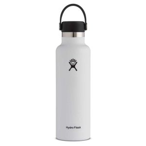 Hydro Flask Standard Mouth Insulated Water Bottle with Flex Cap - 21 oz - White - 21oz
