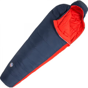 Big Agnes Husted 20 Degree Sleeping Bag - Navy / Red