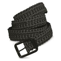 Mil-Tec Paracord Belt, Black