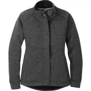 Outdoor Research Women's Flurry Jacket - Medium - Charcoal