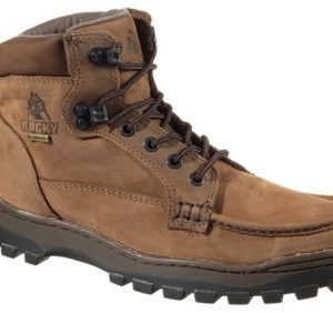 ROCKY Outback GORE-TEX Chukka Hiking Boots for Men - Brown Leather - 10M