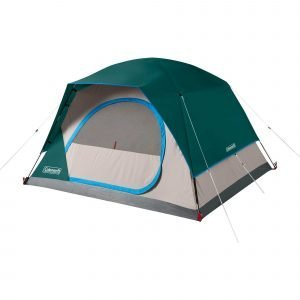 Coleman Skydome 4-Person Tent, Evergreen