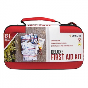 Lifeline 121 Piece Deluxe First Aid Kit