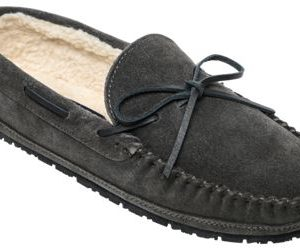 Sperry Compass Trapper Slippers for Men - Charcoal - 12M