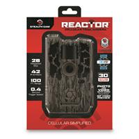 Stealth Cam Reactor Cellular Trail/Game Camera, 26MP, AT&T