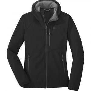 Outdoor Research Women's Ferrosi Grid Hooded Jacket - Small - Black