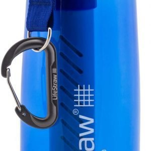 LifeStraw Go 2-Stage Filtration Water Bottle, carbon