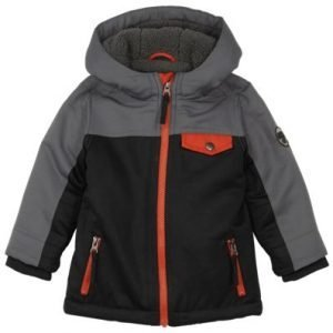 Outdoor Kids Full-Zip Jacket for Toddlers - Black/Charcoal - 4T