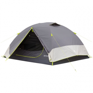Outdoor Products 4 Person Backpacking Tent, Gray/Green/Tan