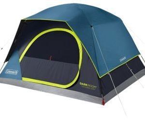 Coleman Dark Room Skydome 4-Person Camping Tent