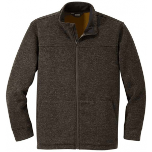 Outdoor Research Flurry Full Zip Jacket - Men's, Grizzly Brown, Small