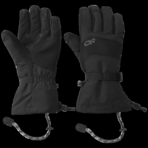 Outdoor Research Highcamp Gloves - Men's, Black, Small