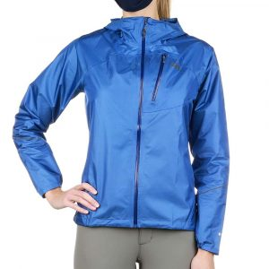 Outdoor Research Women's Helium Rain Jacket - Small - Chambray