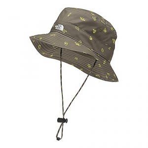 The North Face Youth Class V Brimmer Hat New Taupe Green Camp Essentials Print