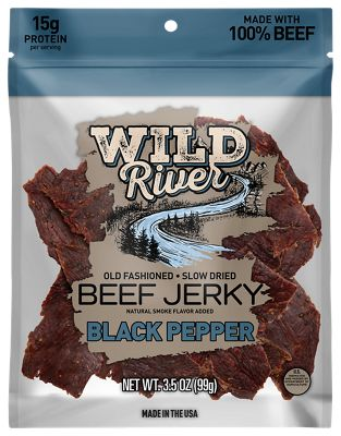Wild River Black Pepper Old Fashioned Beef Jerky